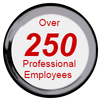 Over 250 Professional Employees